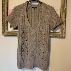 Banana Republic Short Sleeve Wool Blend Sweater